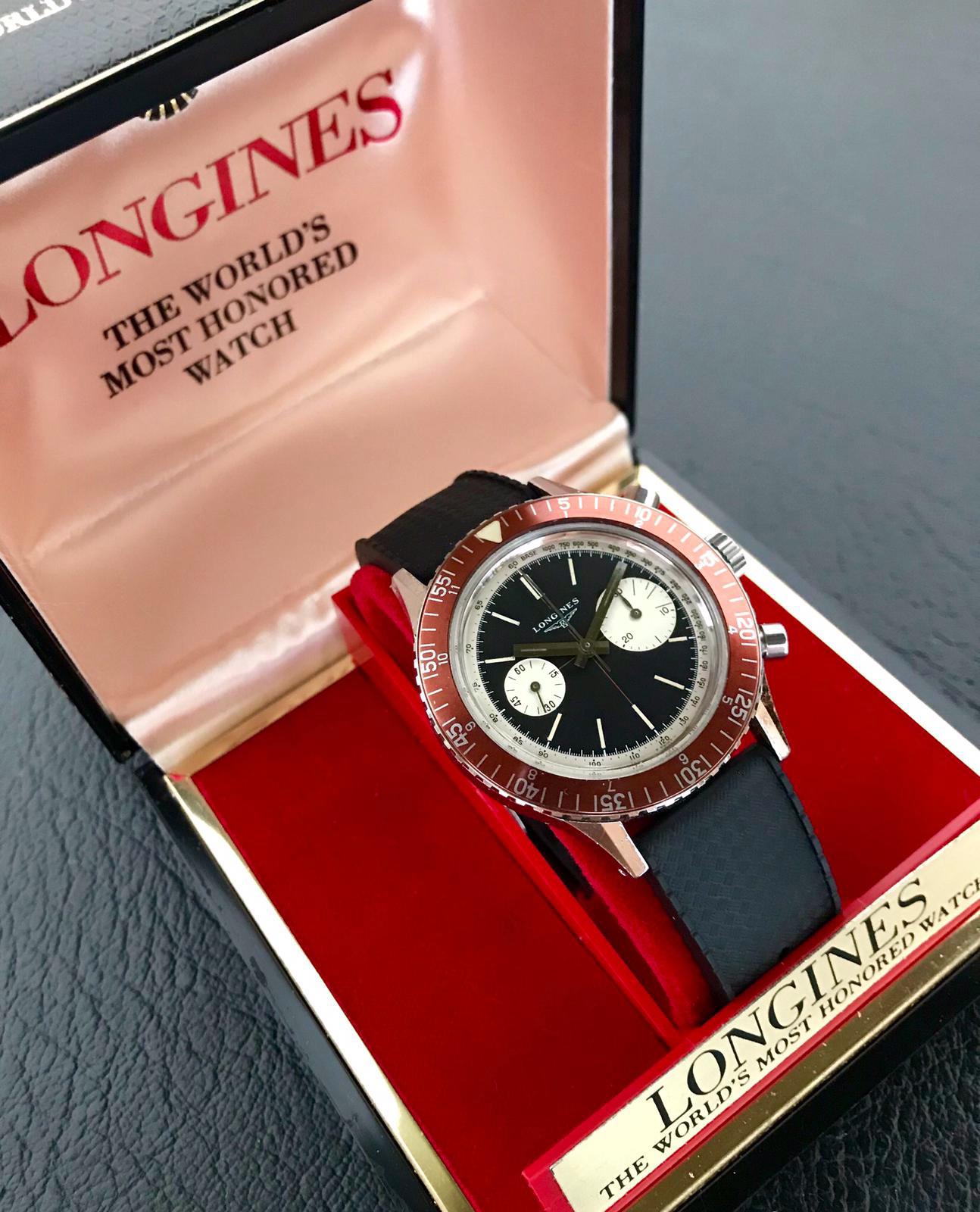 "Longines ""Skin Diver"" Mk1  7981-1"