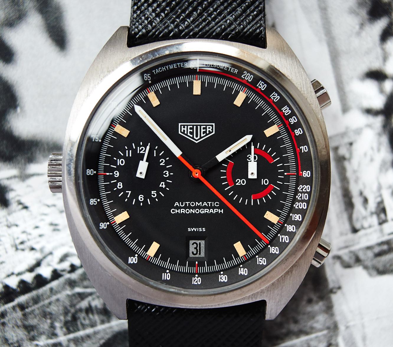 """Heuer Monza 150.501 """"Heuer only"""" nos"""