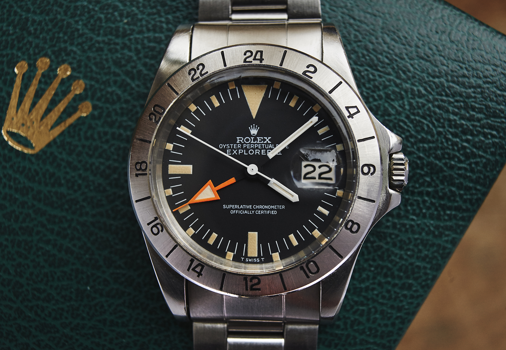 Rolex 1655 Explorer2, Orange Hand, MK1