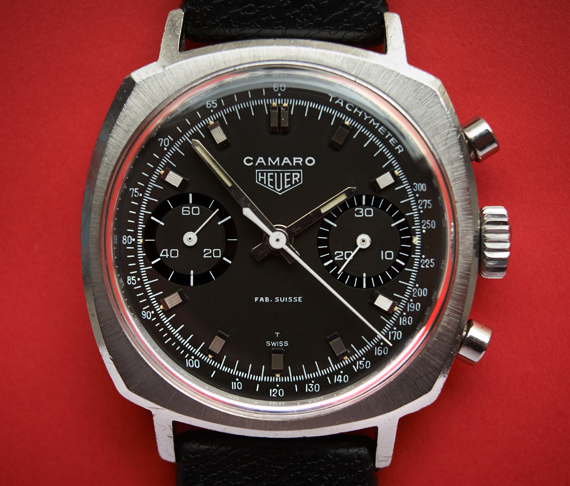 "Heuer Camaro 7743 ""Fab.Suisse"""