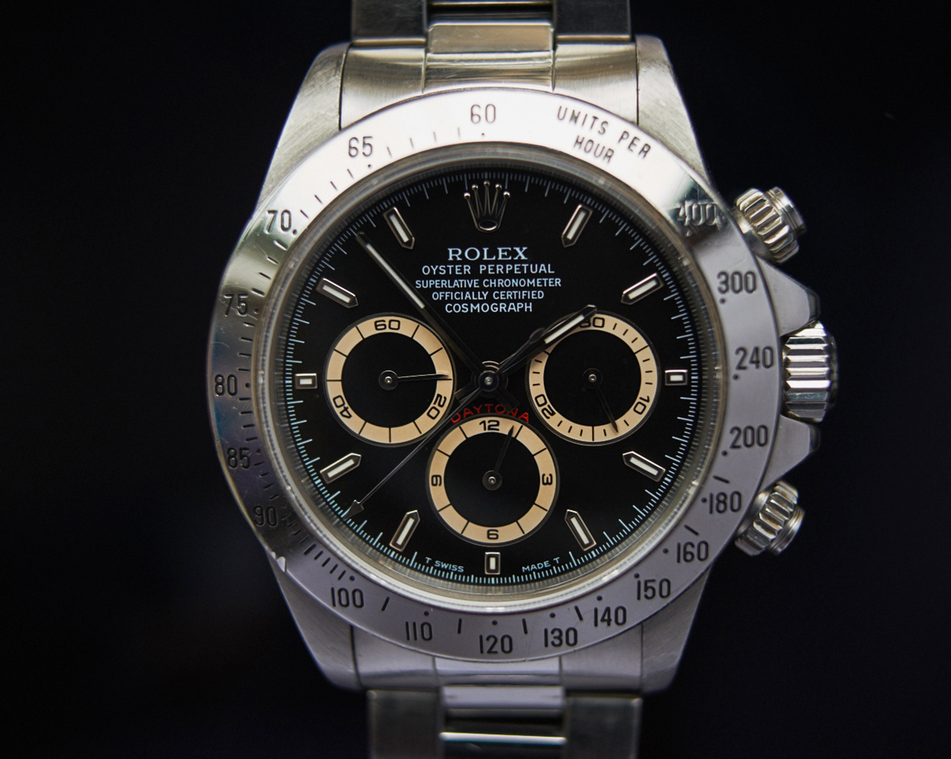 Rolex Daytona 16520 brownish subs