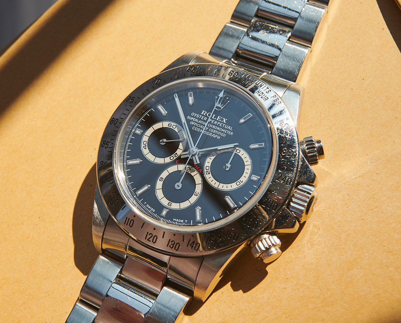 Rolex 16520 daytona u-series unpolished