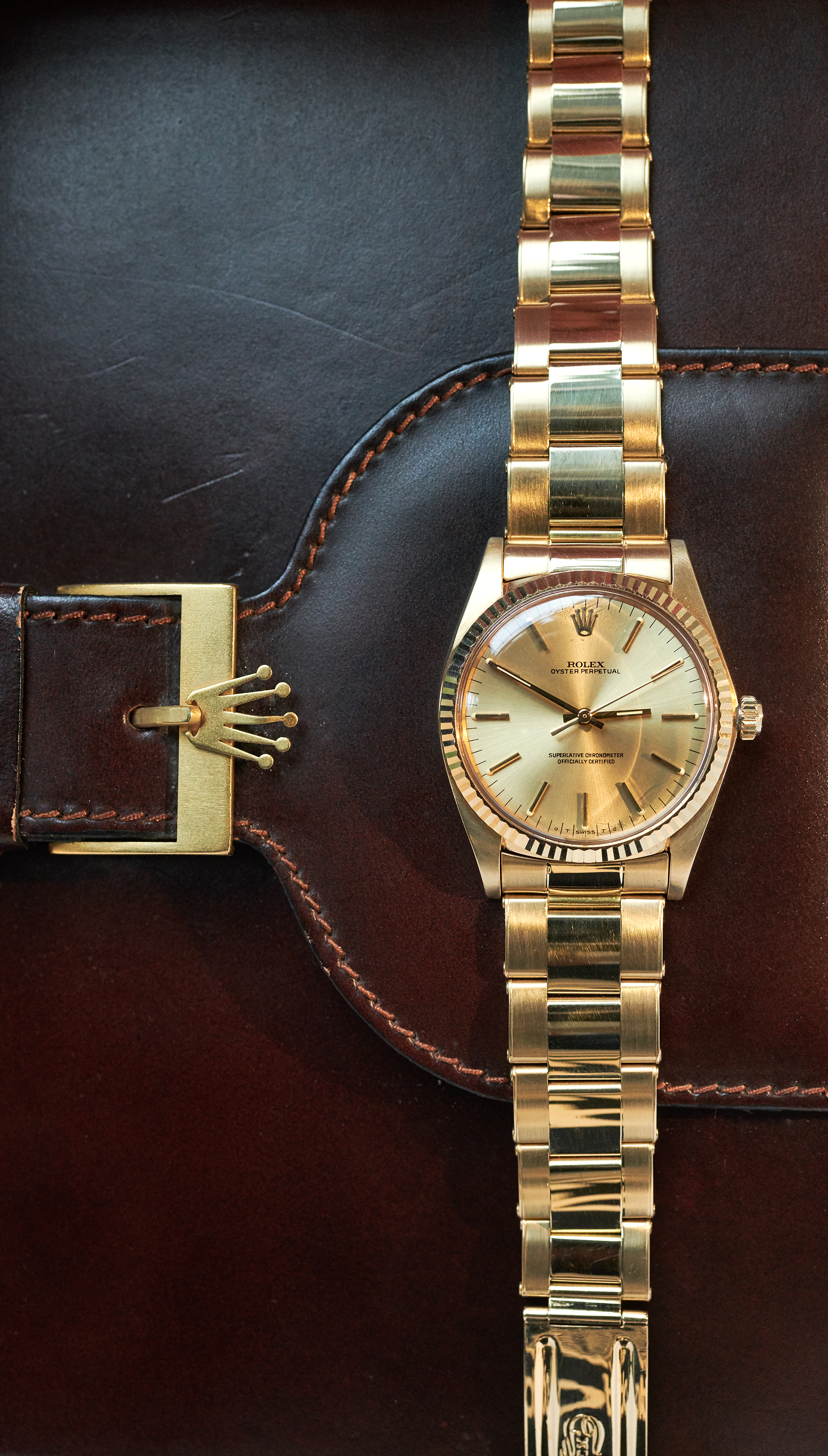 Rolex 1013 Sigma Dial / 18k Yellowgold