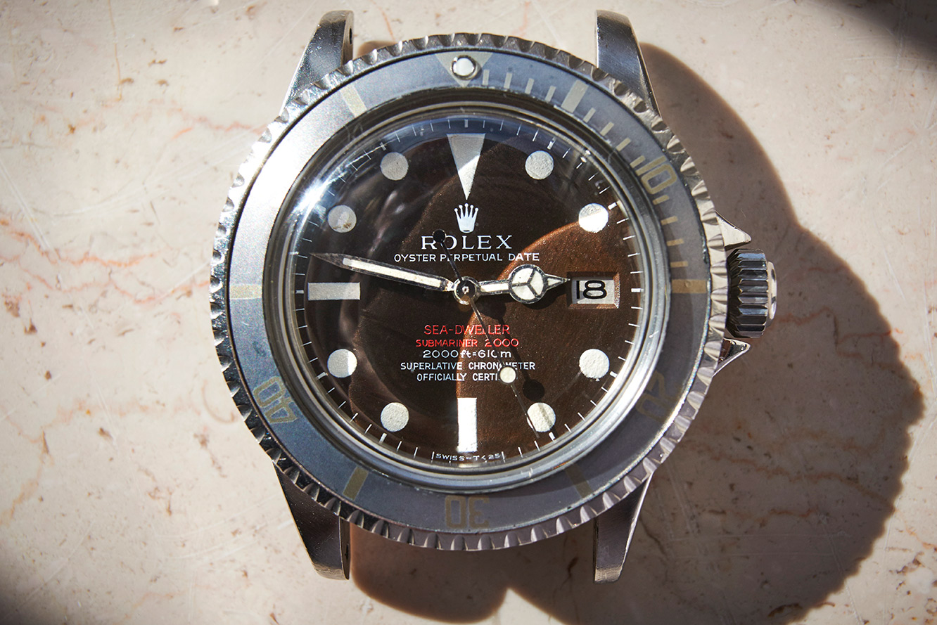 Rolex 1665 DoubleRed Seadweller Mk2 tropical
