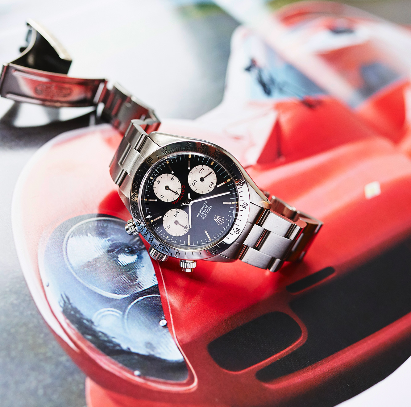 "Rolex 6265 Daytona ""Big Red"""