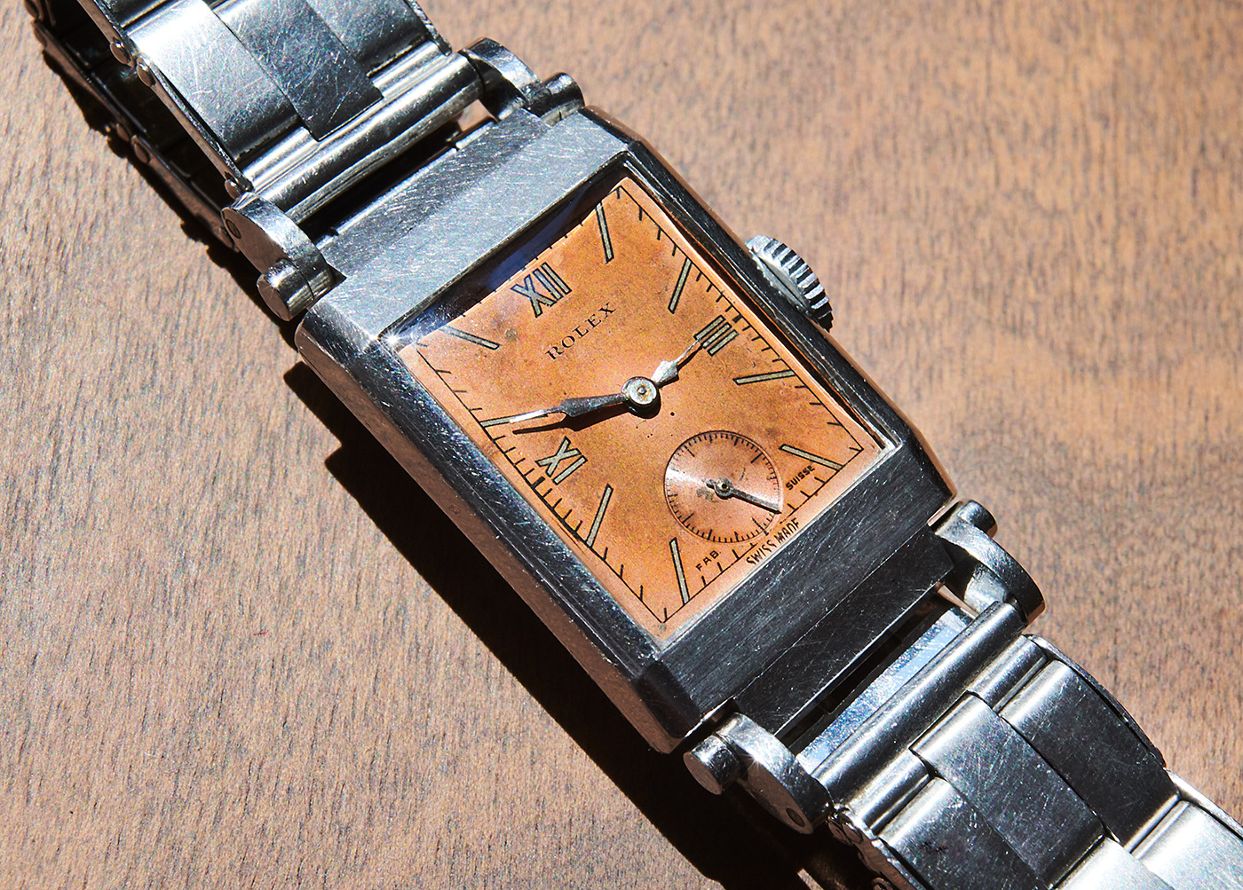 rolex 3085 from 1937 salmon dial