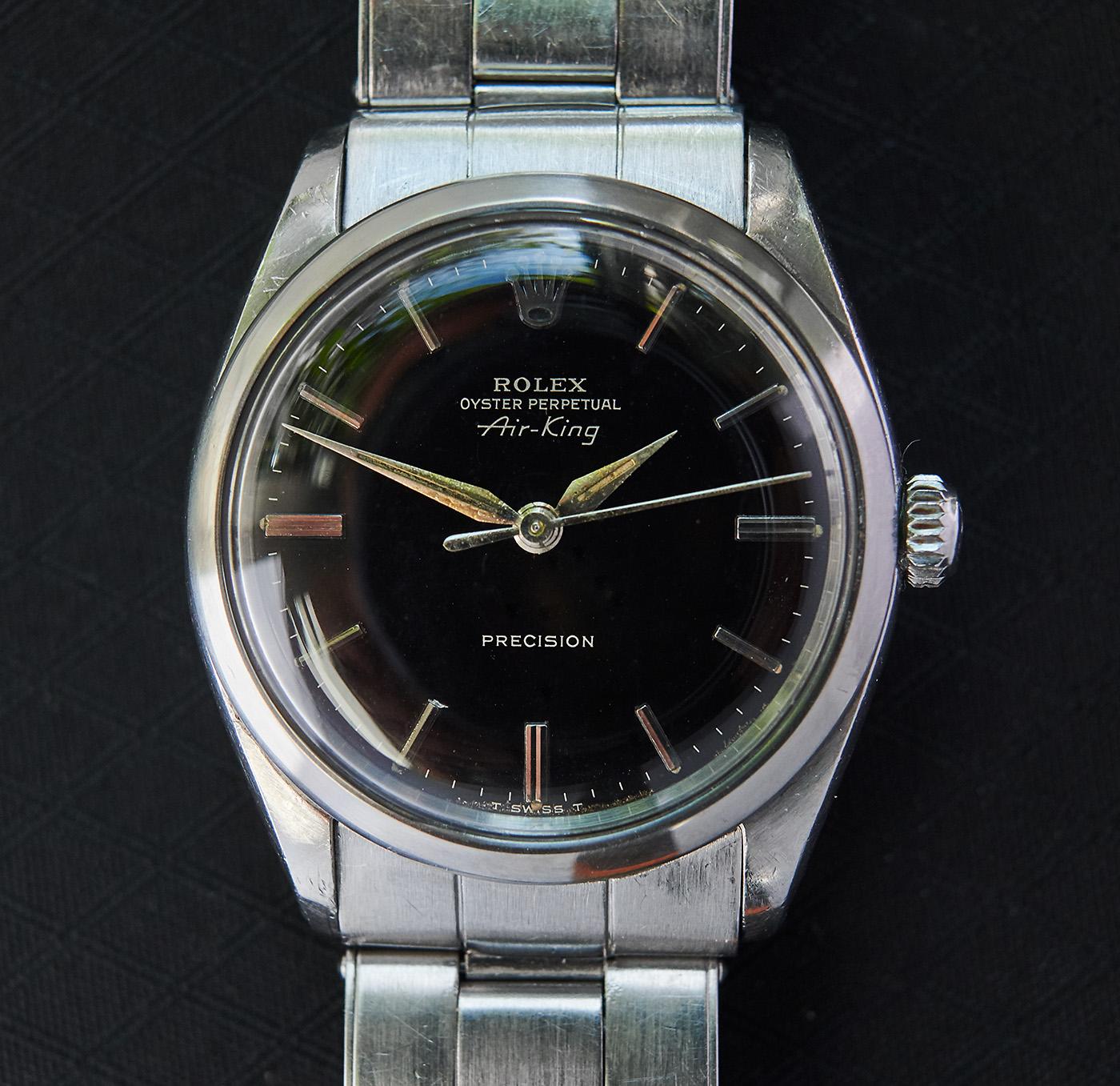 Rolex 5500 airking gilt/glossy dial