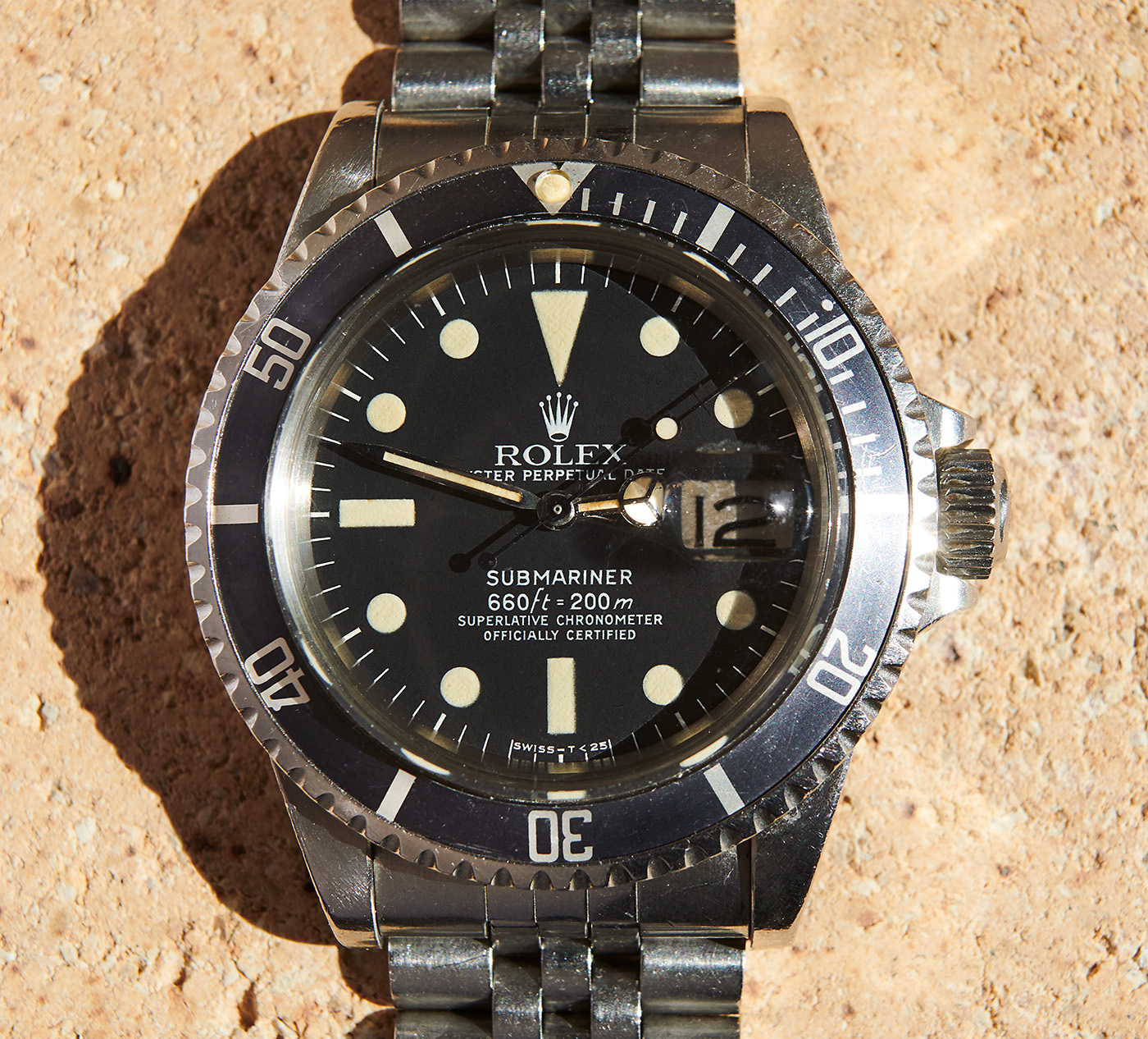 rolex 1680 sub + box & papers
