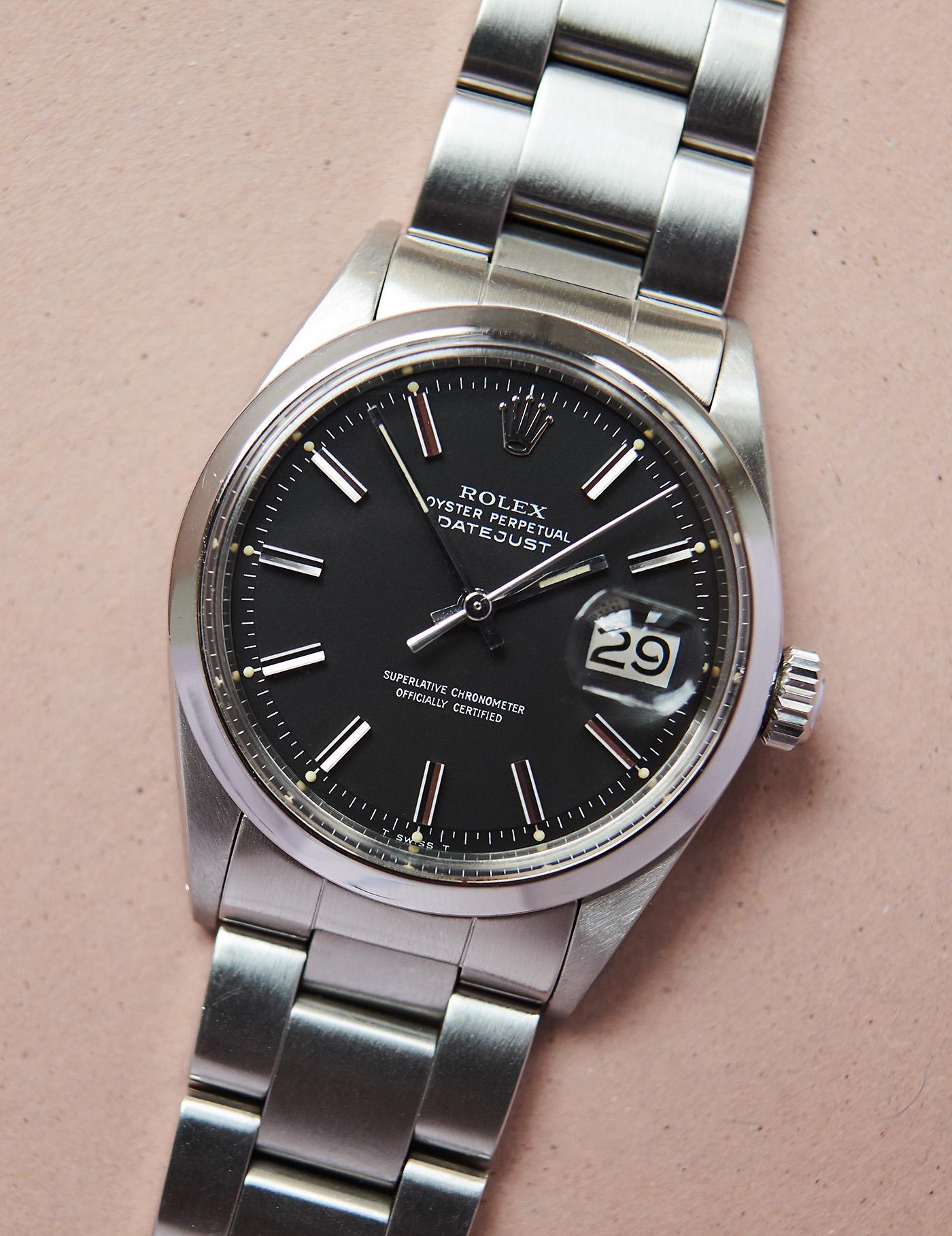 Rolex 1600 Datejust 1971