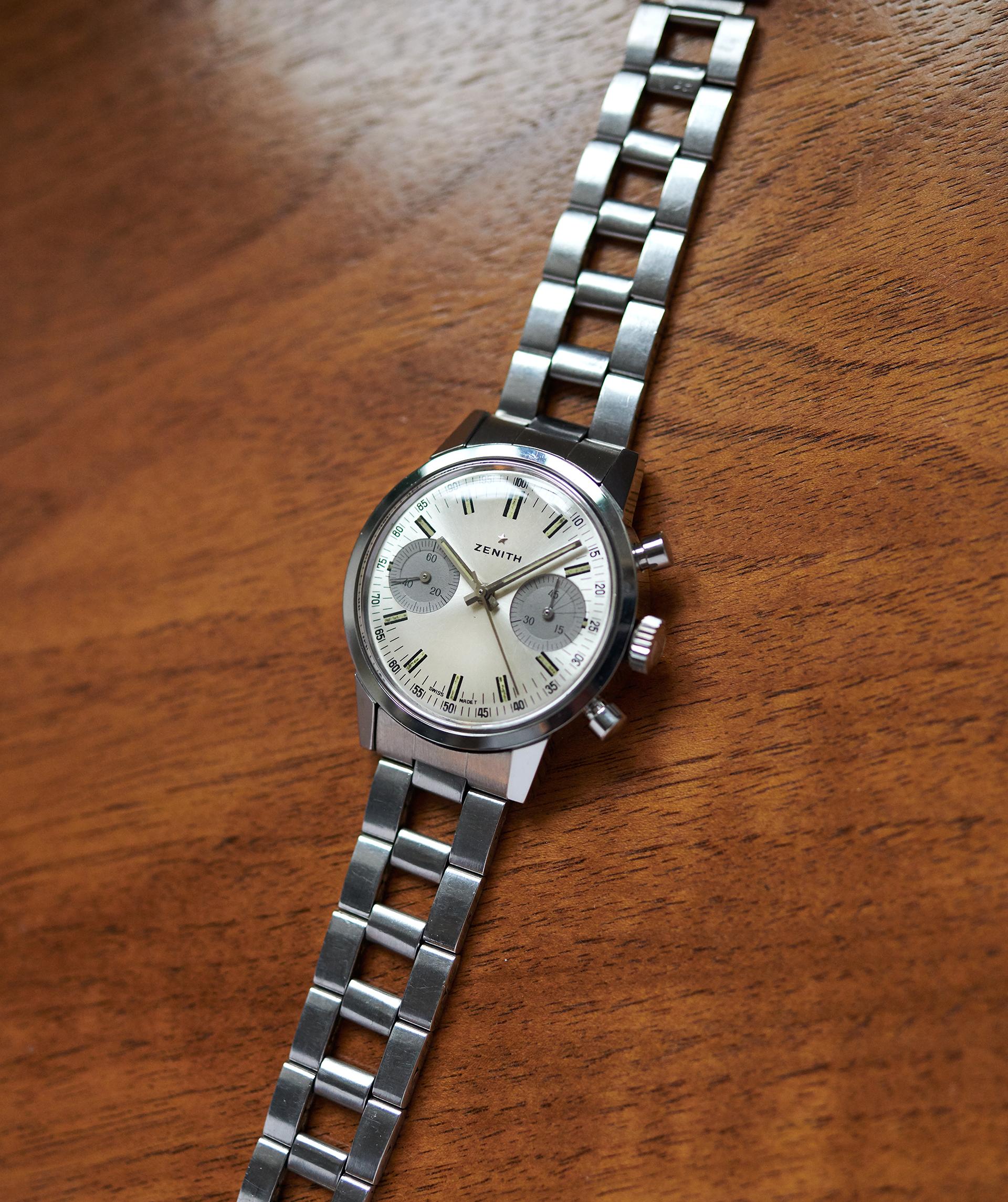 Zenith A279 Panda Chronograph / 1967