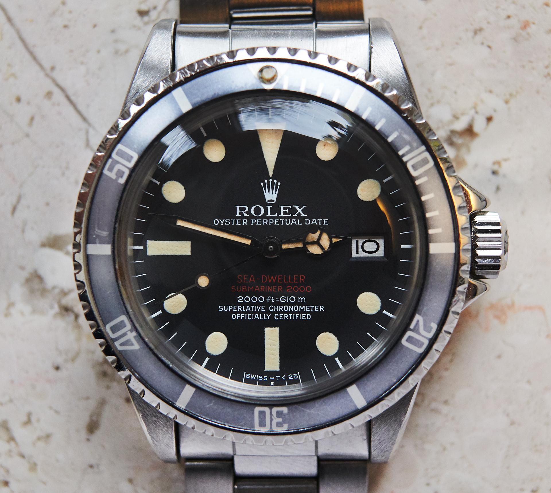 Rolex 1665 DRSD Mk3 / Servicepapers