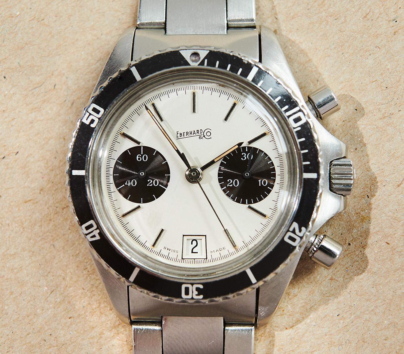 eberhard & co diving-chronograph