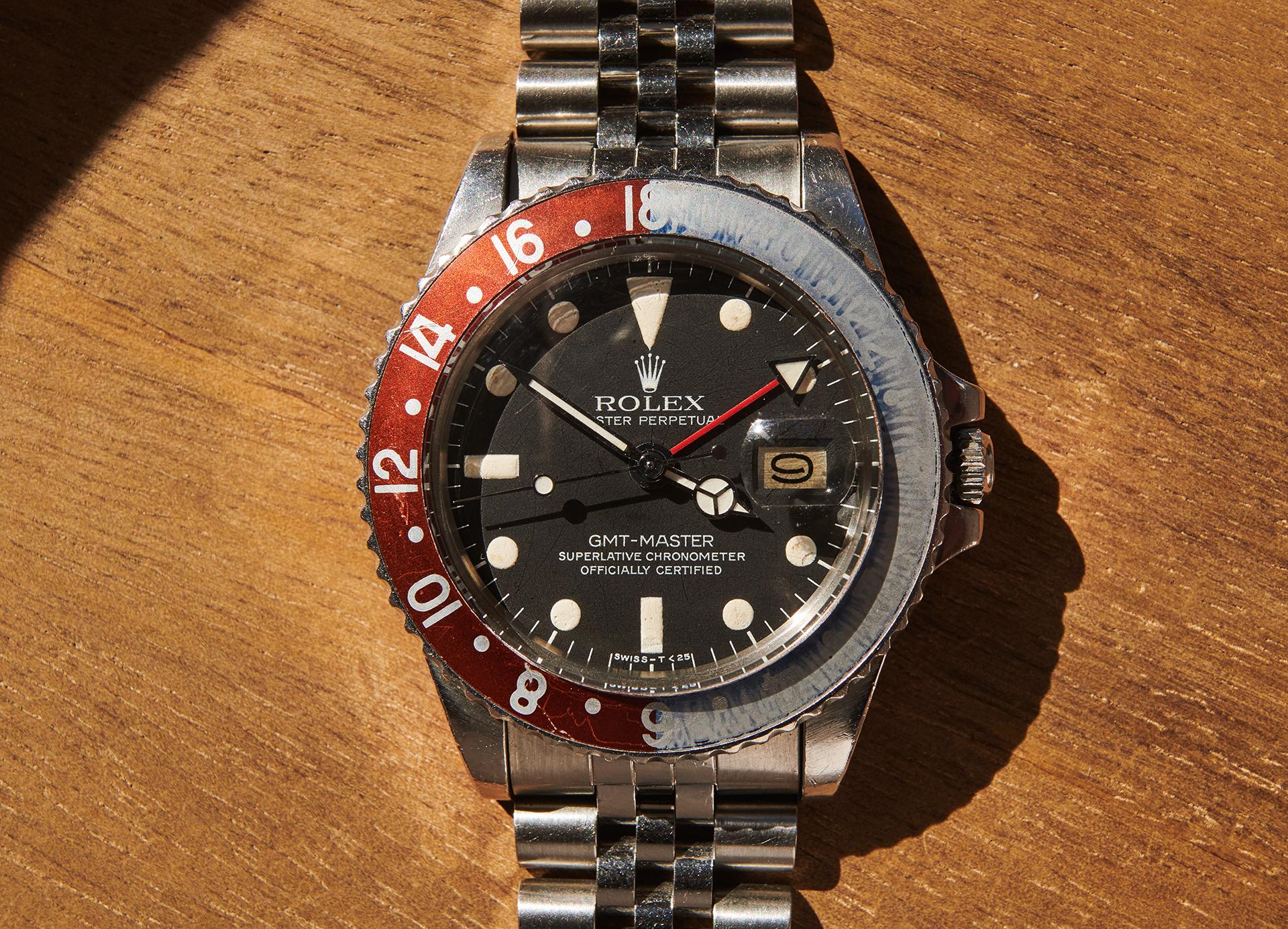 Rolex 1675 GMT Master / Maxi Dial