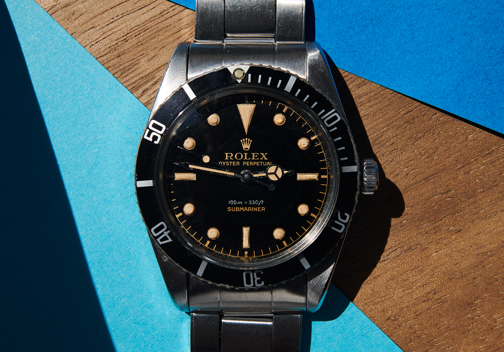 Rolex 5508 Submariner gilt dial from 1959