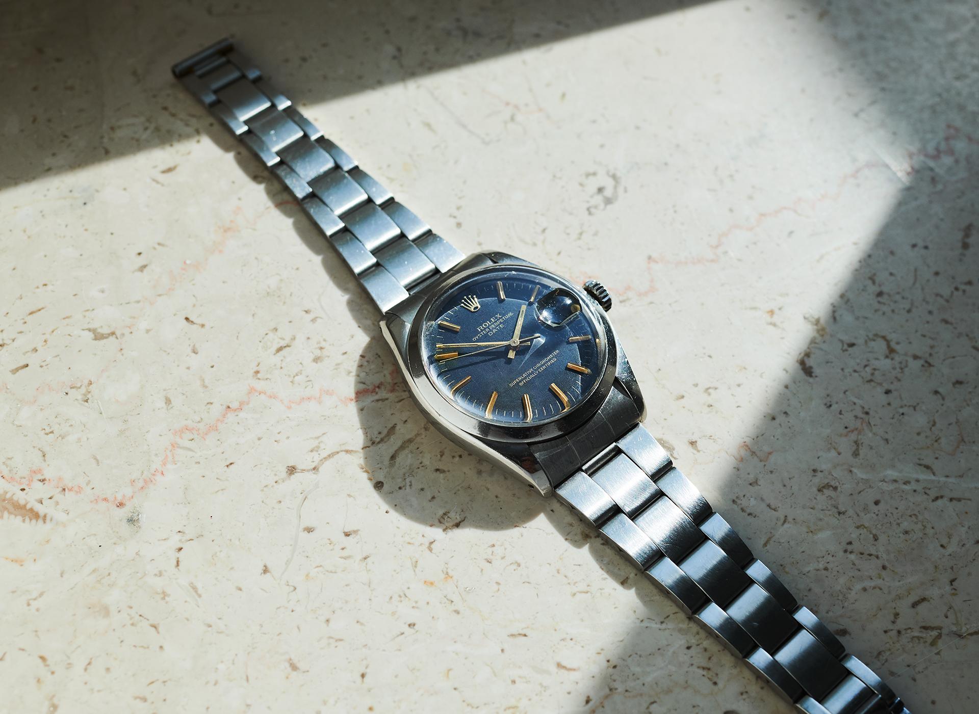 Rolex 1500 Date / Sigma Dial 1975