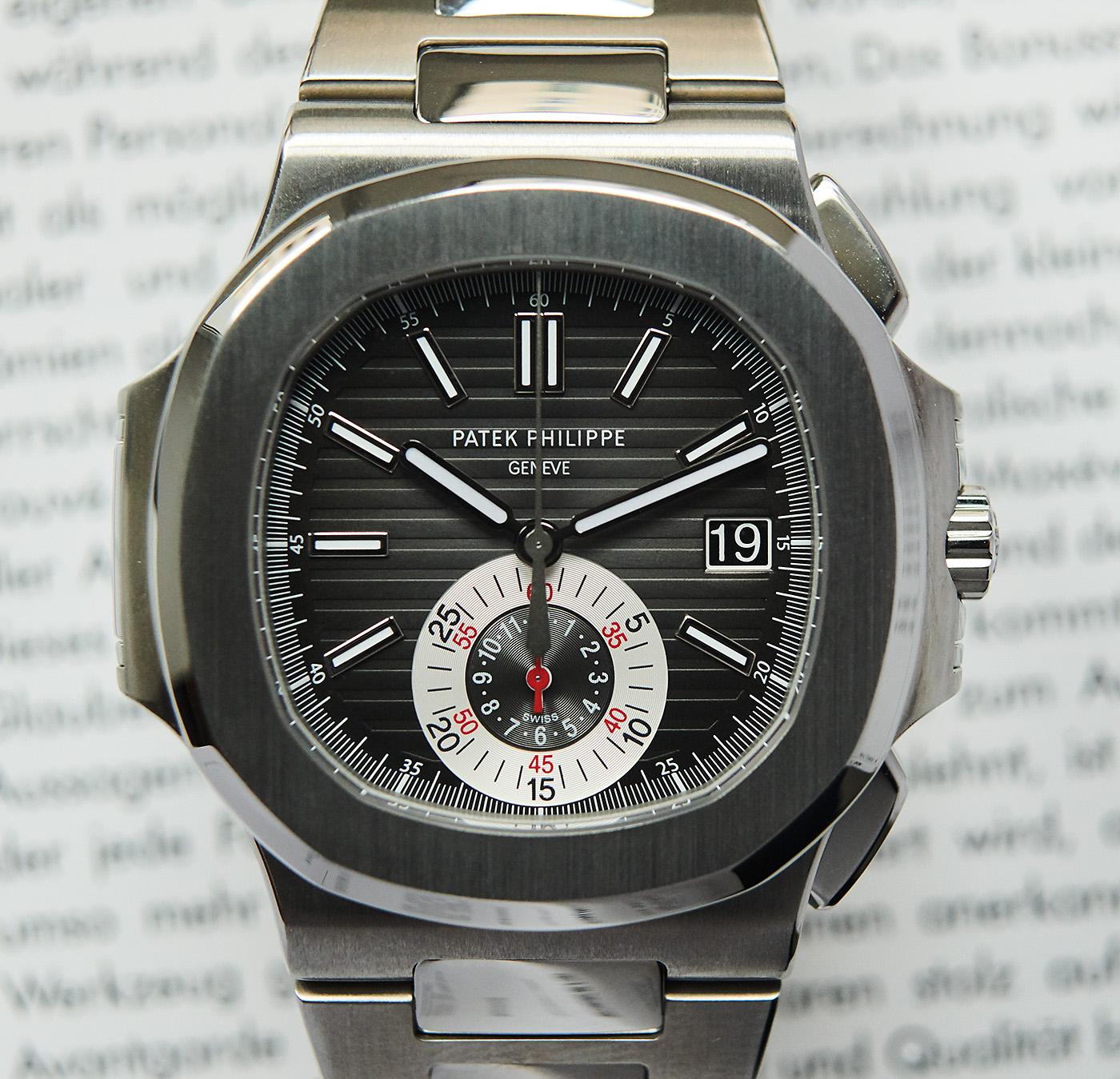Patek Philippe Nautilus 5980 black
