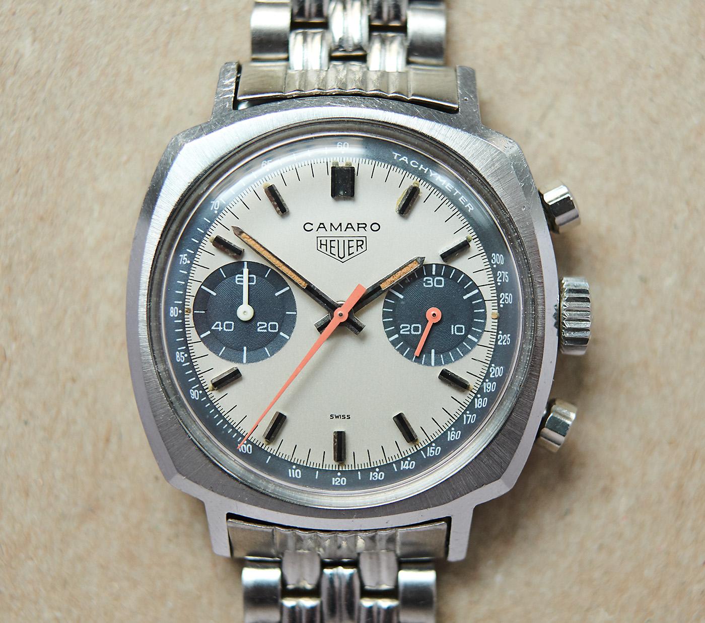 Heuer Camaro 7743 Exotic dial