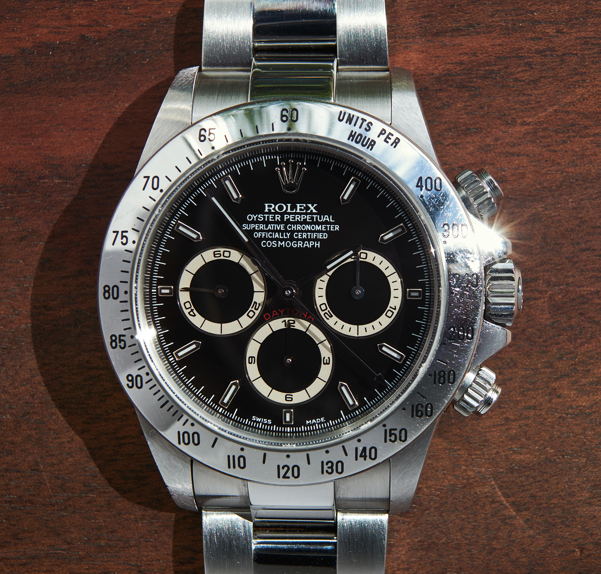 Rolex Daytona 16520 A-series / unpolished & serviced