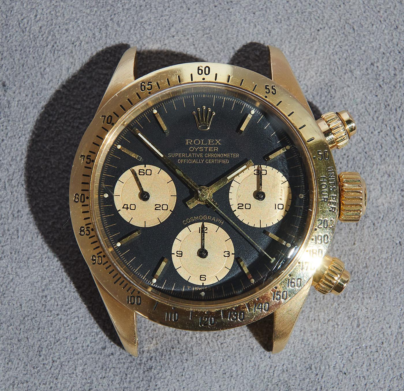 Rolex daytona 6265/8 yellowgold