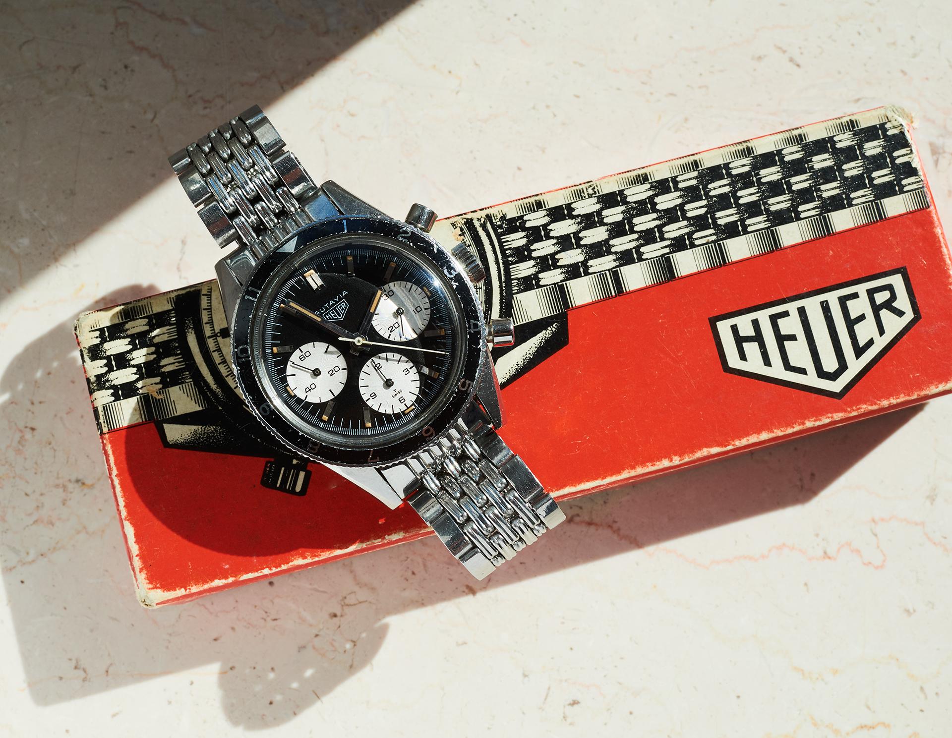 "Heuer Autavia 2446H ""Jochen Rindt"""