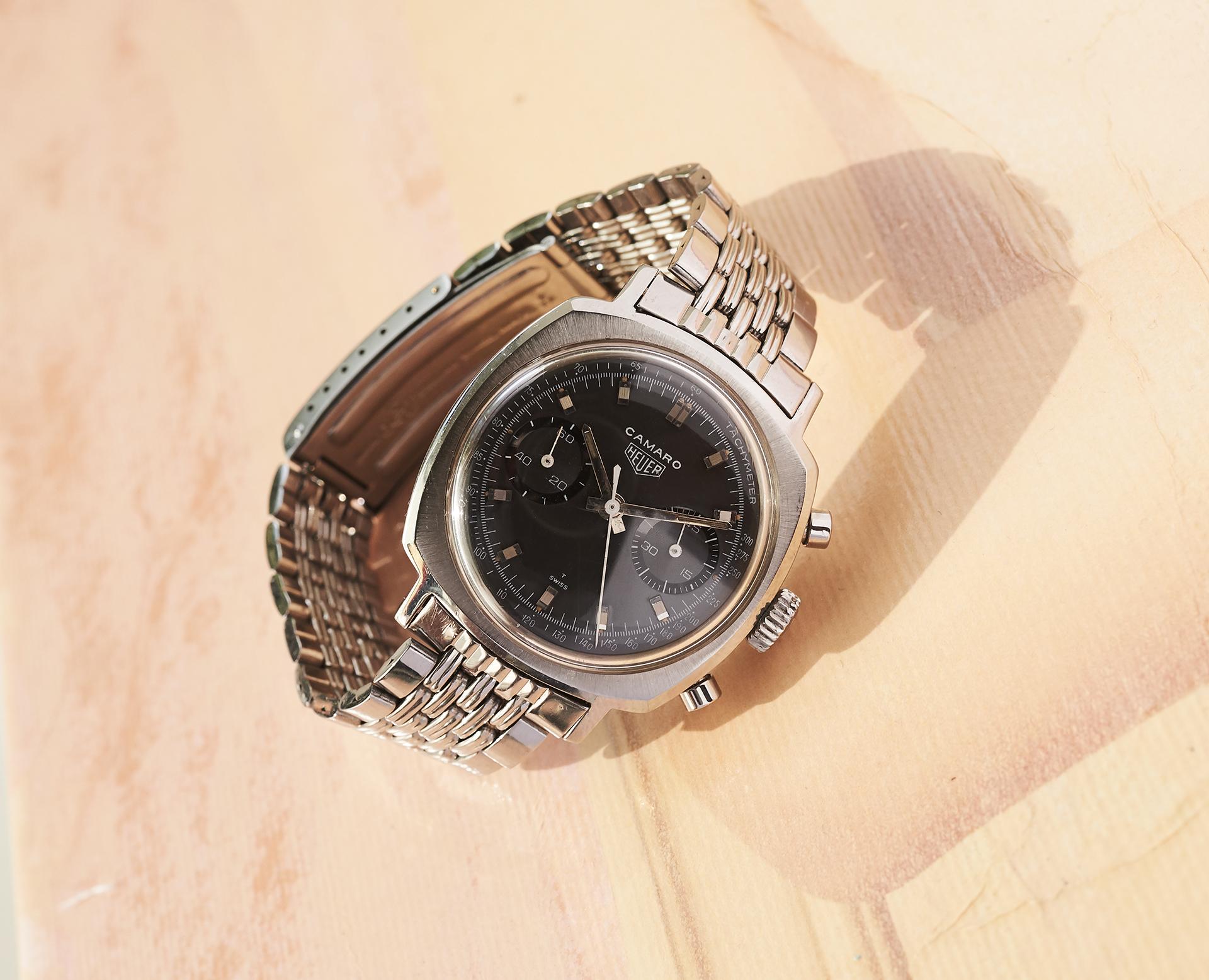 Heuer Camaro 9220 NT on a GF dbor bracelet