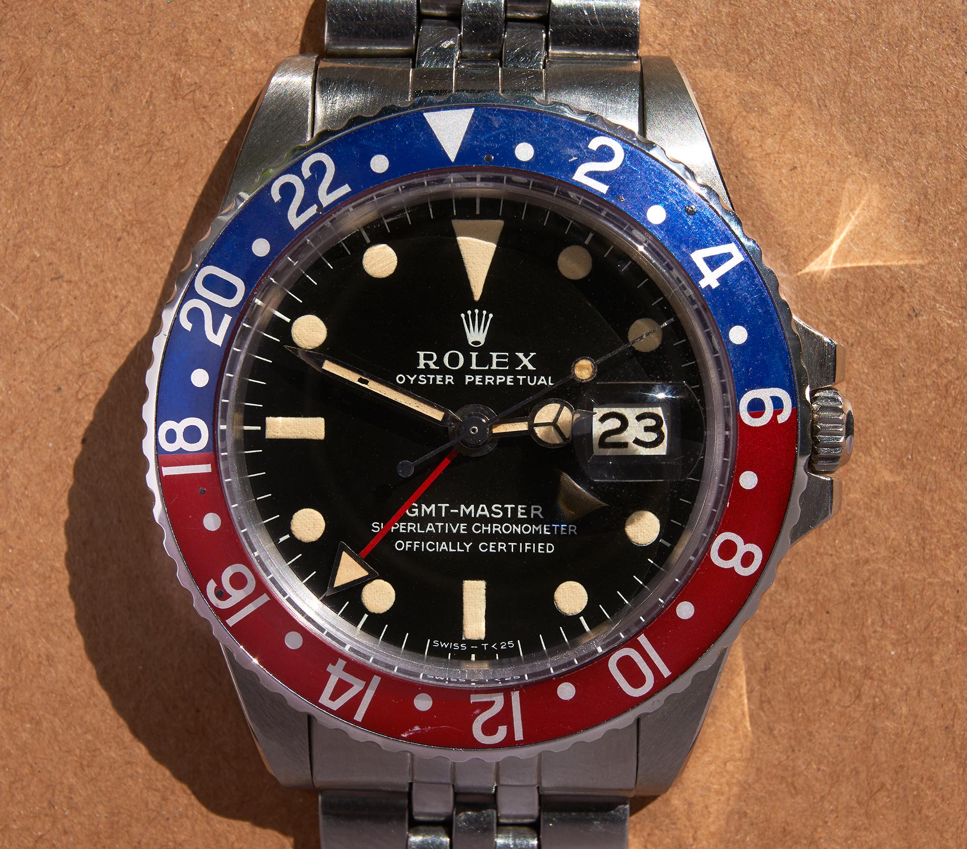 """Rolex 1675 GMT Master """"Long E"""""""