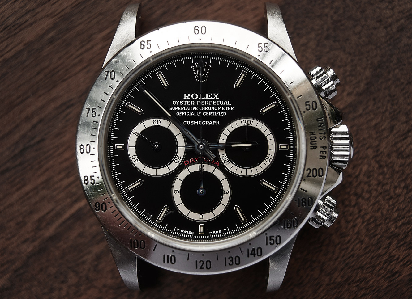 "Rolex Daytona 16520 ""floater"" R series"