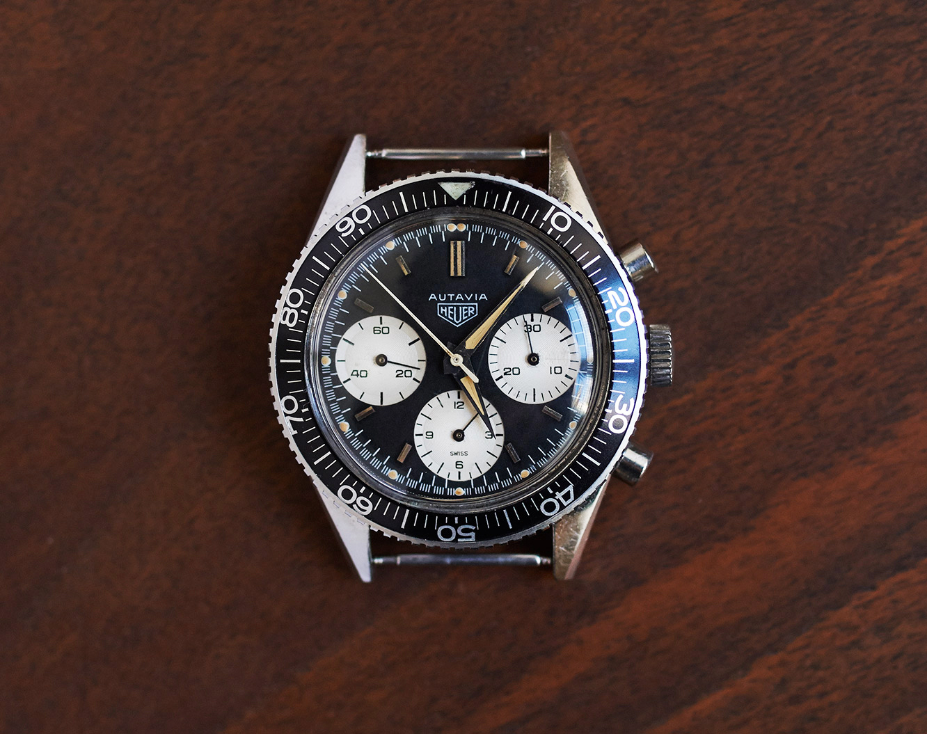 "Heuer Autavia 2446 ""second execution"""