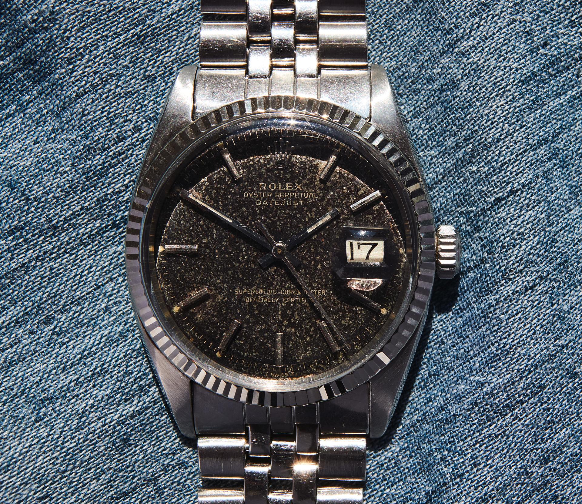 rolex dj 1601 glossy dial 1966