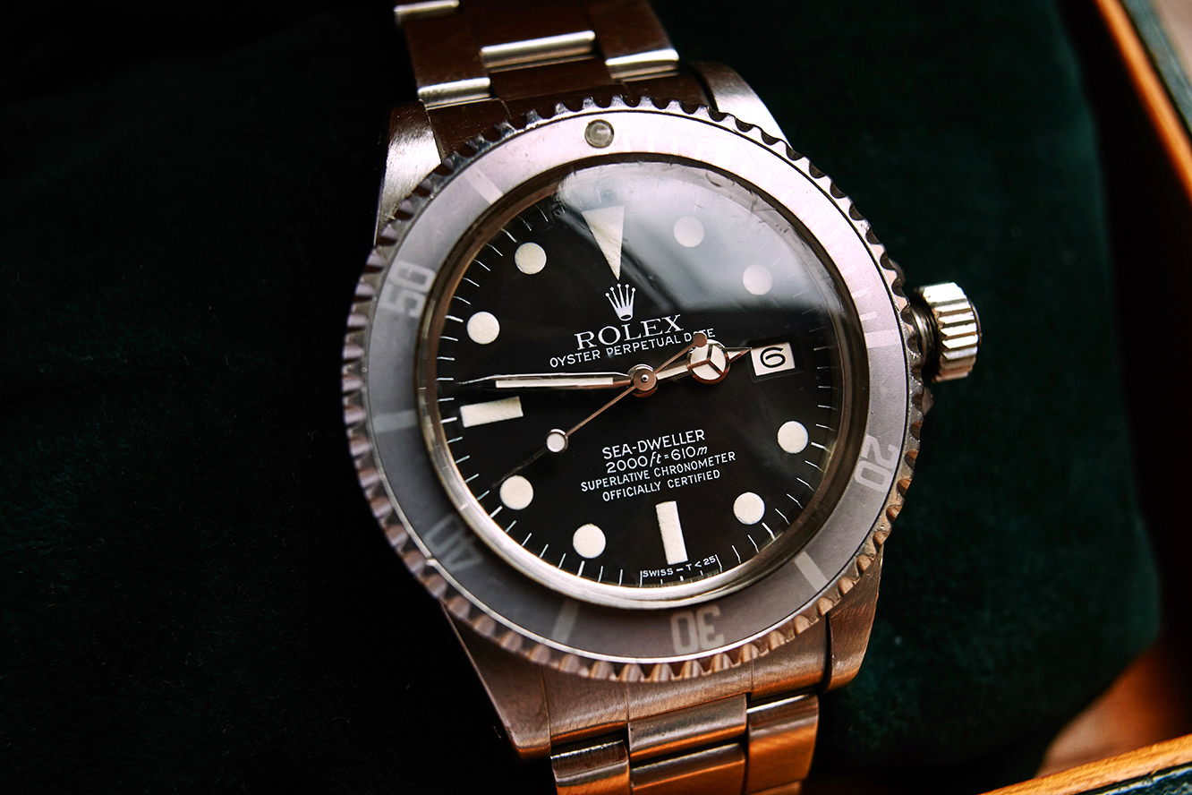 "Rolex 1665 Sea Dweller fullset ""Great White"""