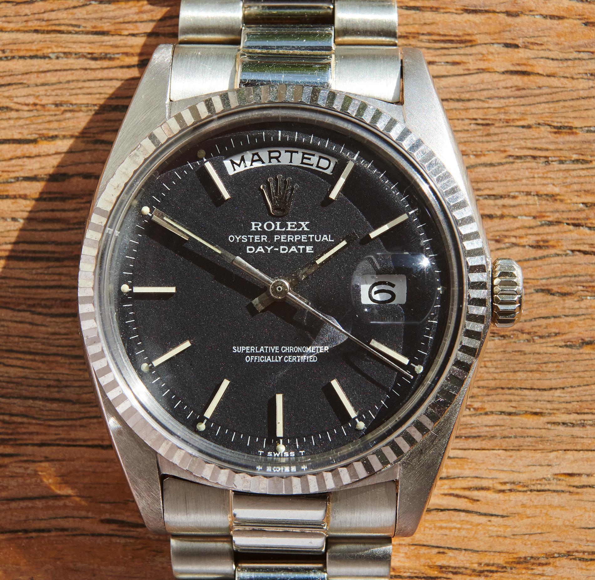 Rolex 1803 WG Confetti-dial