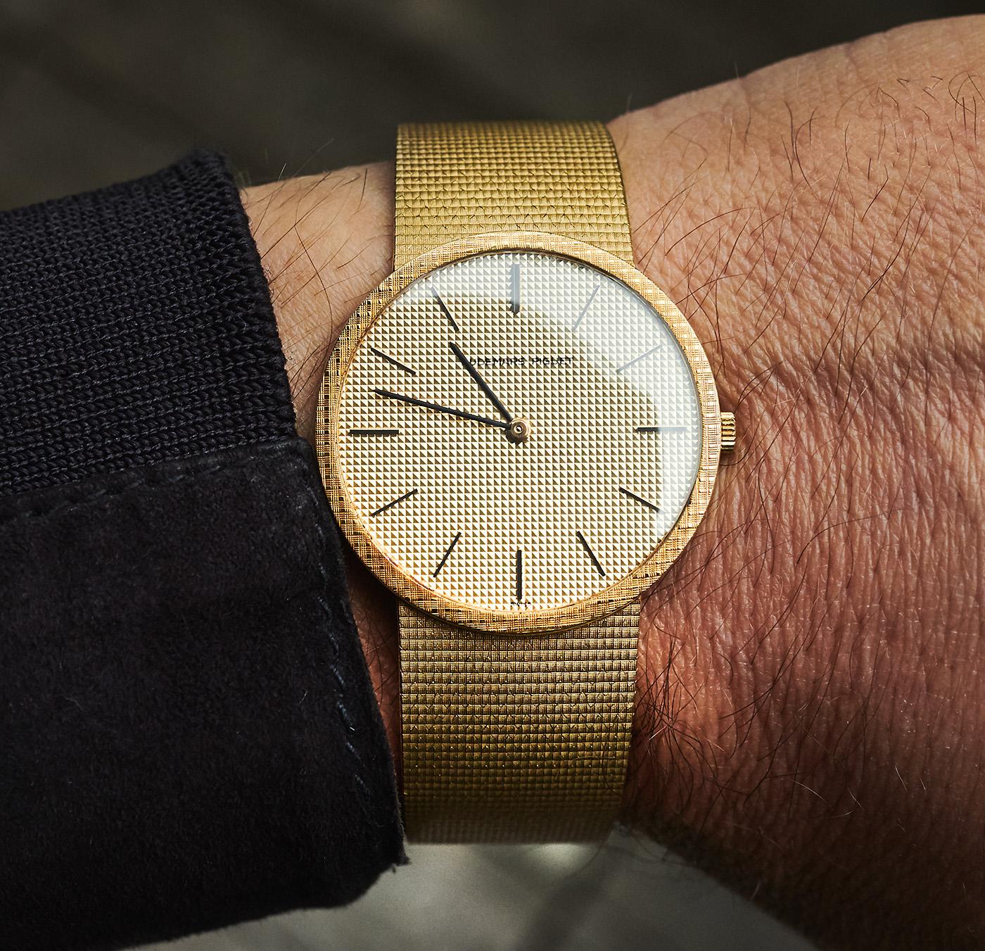 Audemars Piguet 18k dresswatch 1976
