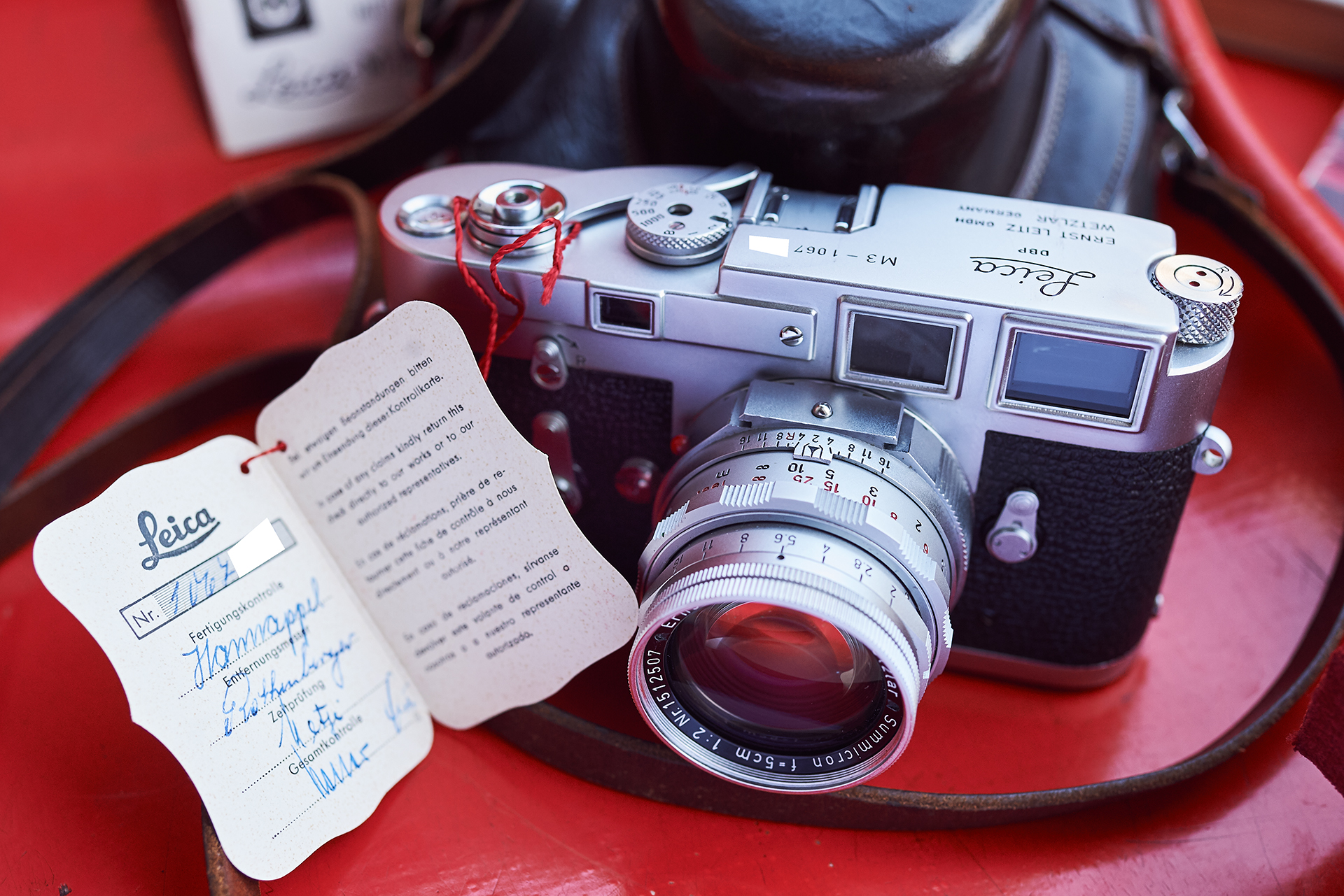 Leica M3 kit 1963