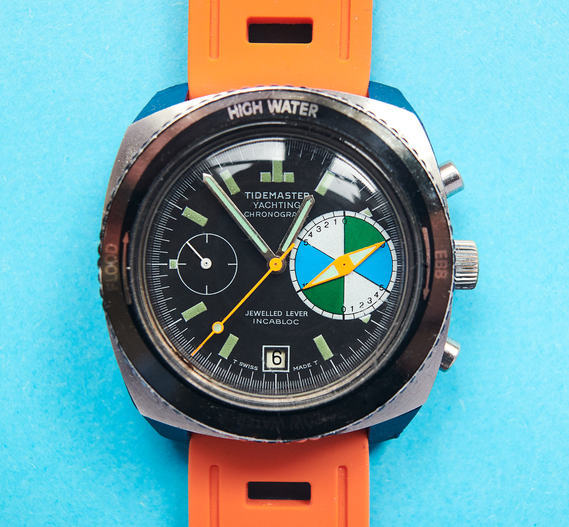 tide & yachting chronograph 1970s