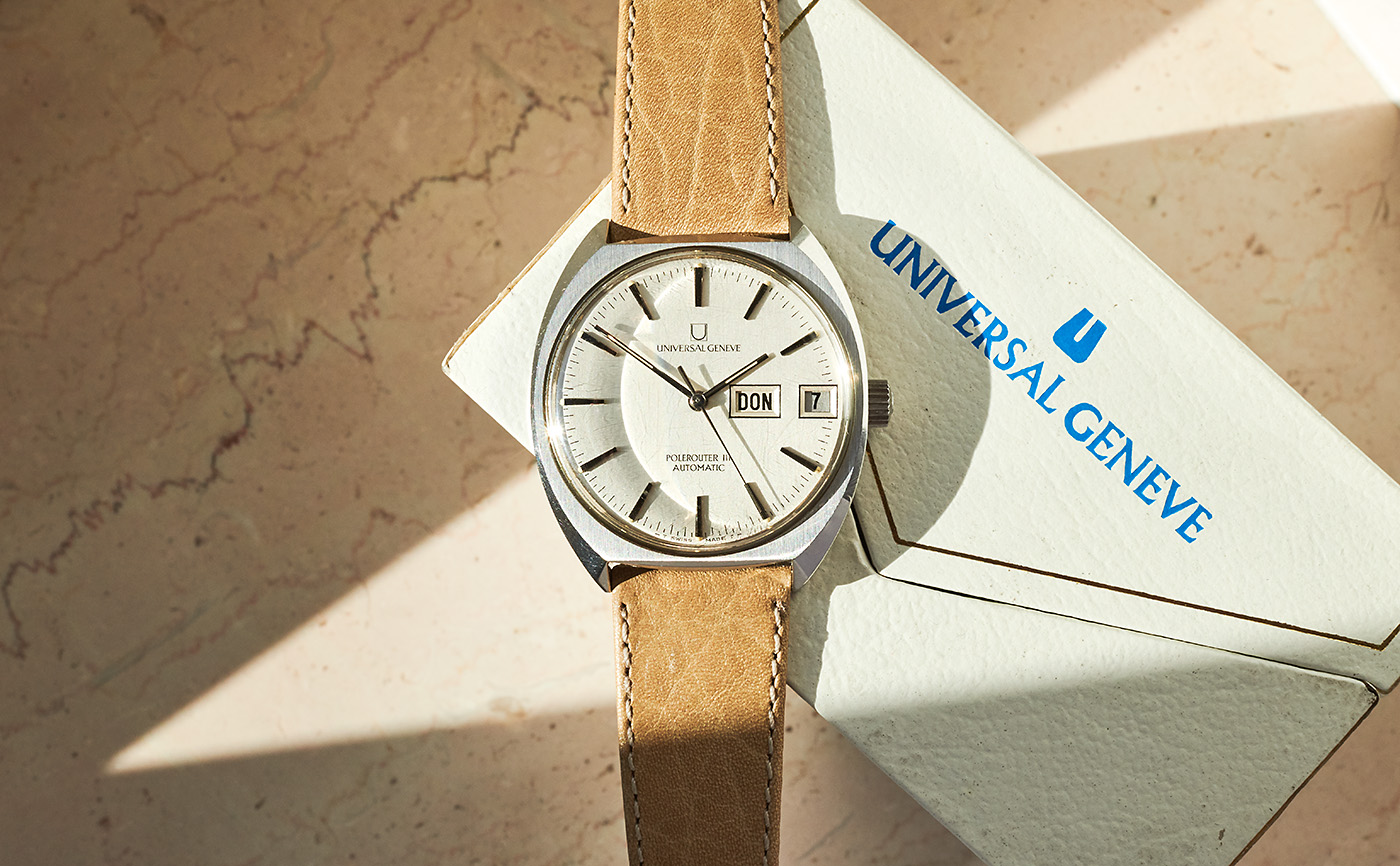 universal geneve polerouter 3 daydate