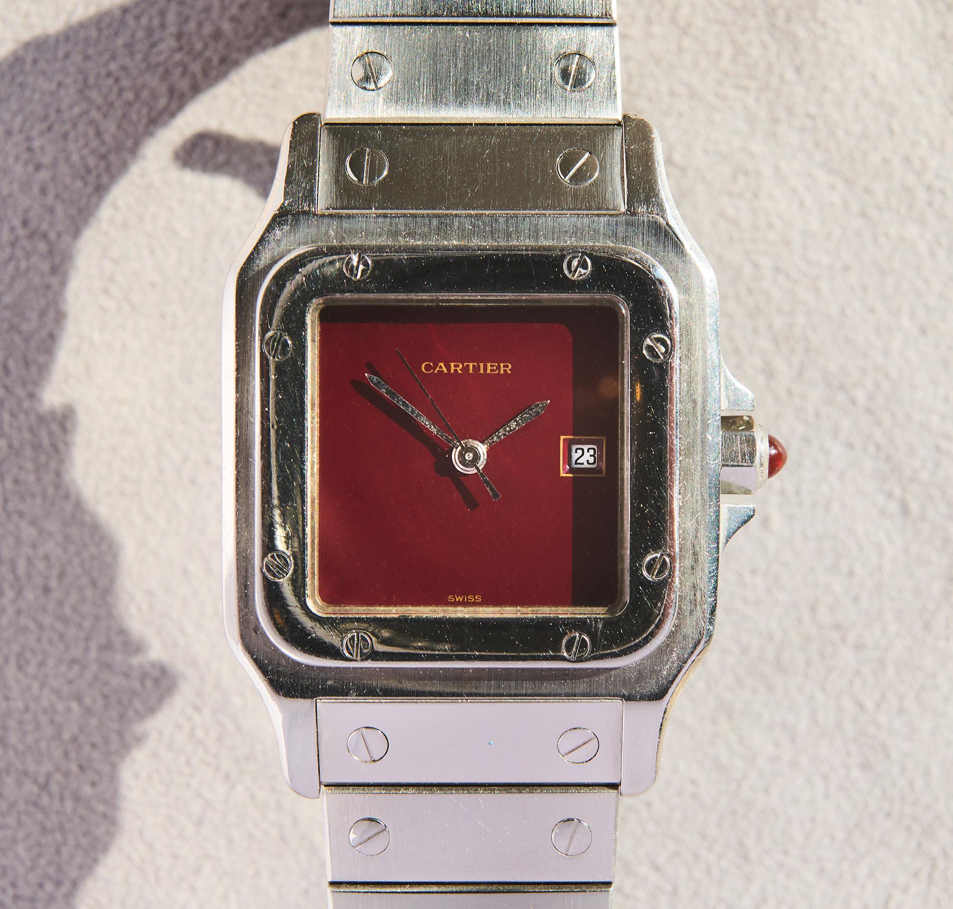 Cartier Santos Automatique 1980s
