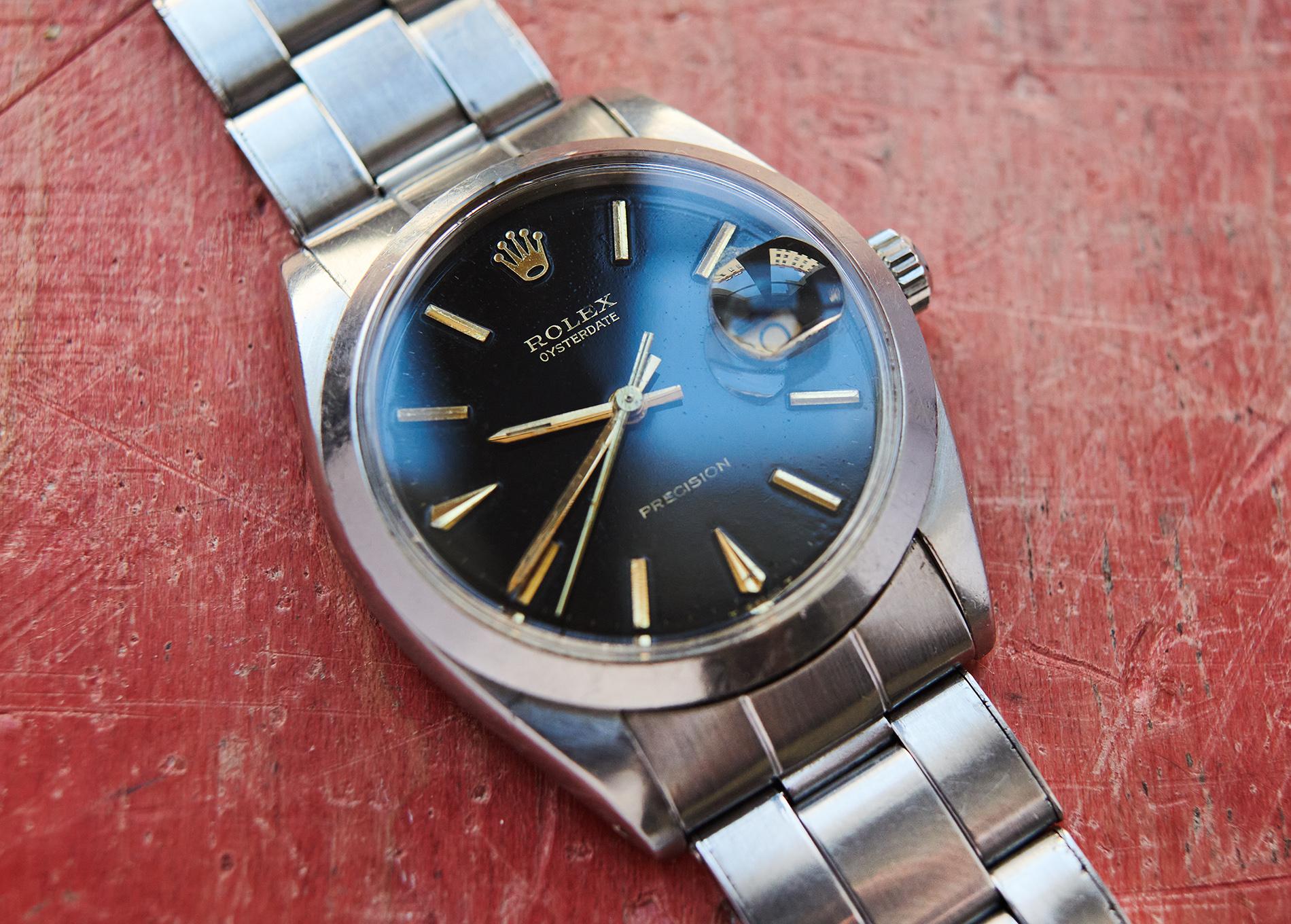 Rolex glossy/gilt dial 1967