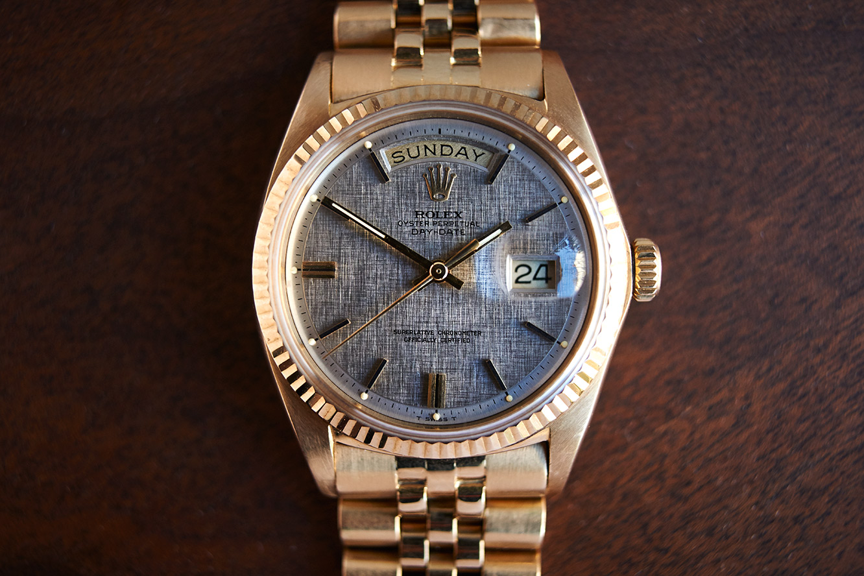 Rolex Daydate 1803 linendial