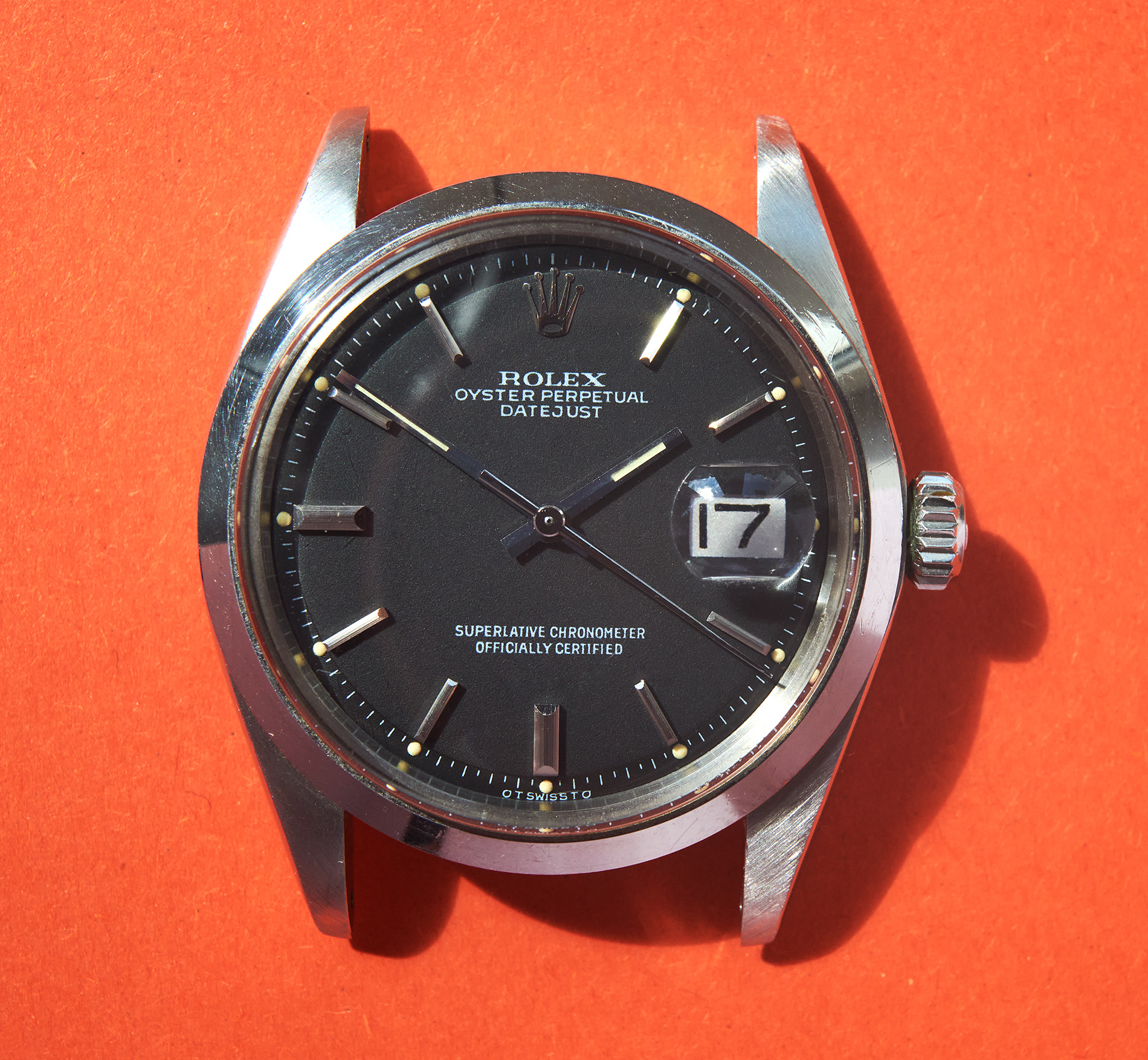 Rolex 1600 DJ Sigma dial 1975