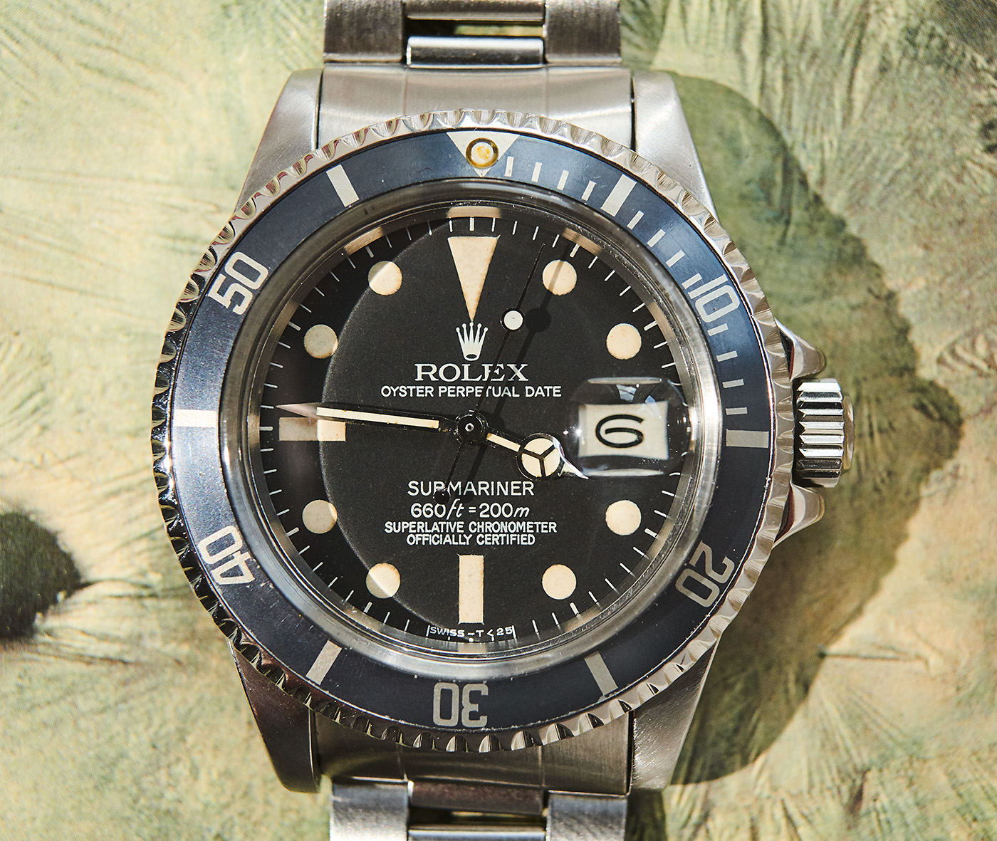 Rolex 1680 Sub, Box+Papers