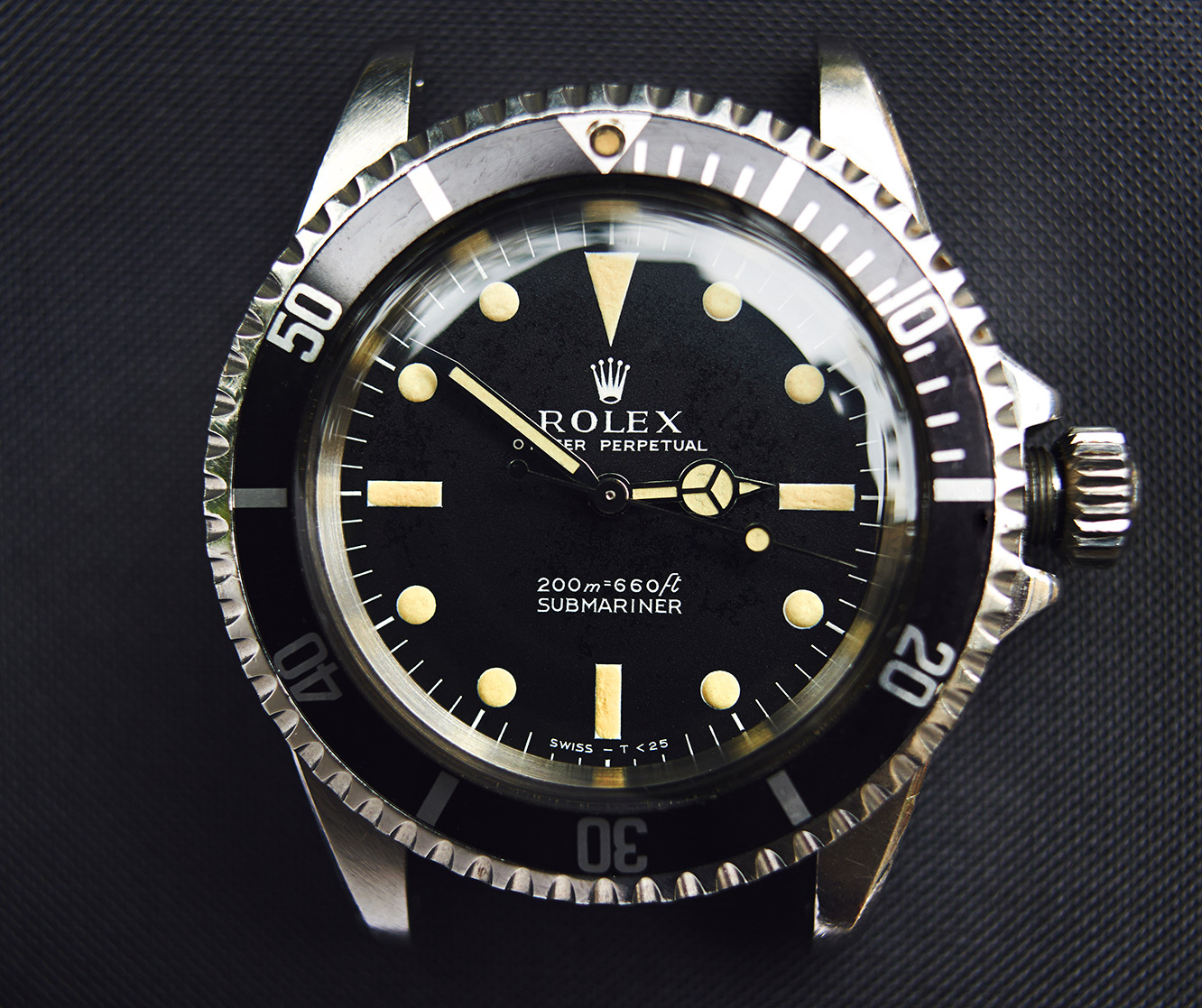 "Rolex Submariner 5513 ""meters first"""