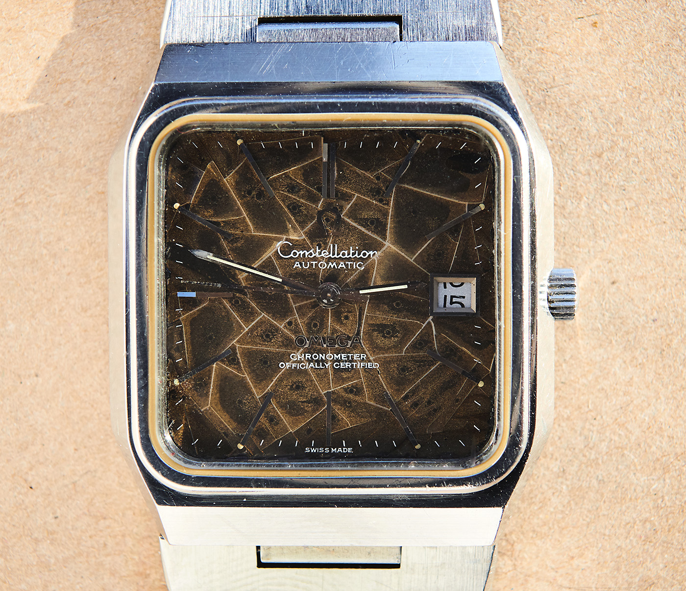 Omega Constellation Jumbo / tropical