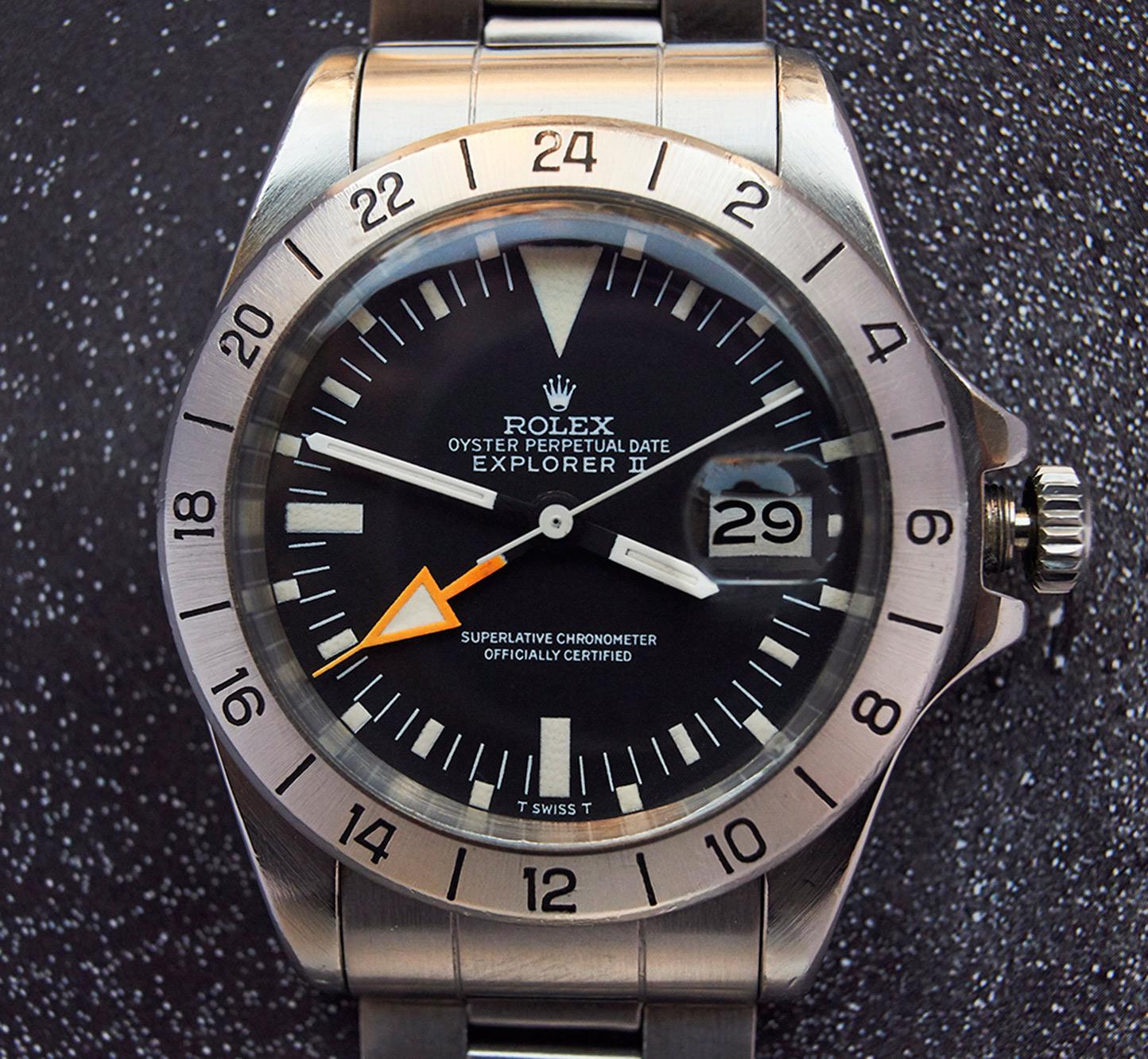 "Rolex 1655 Explorer 2 ""straight hand"""