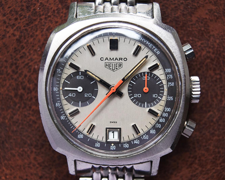 Heuer Camaro 73443 exotic dial