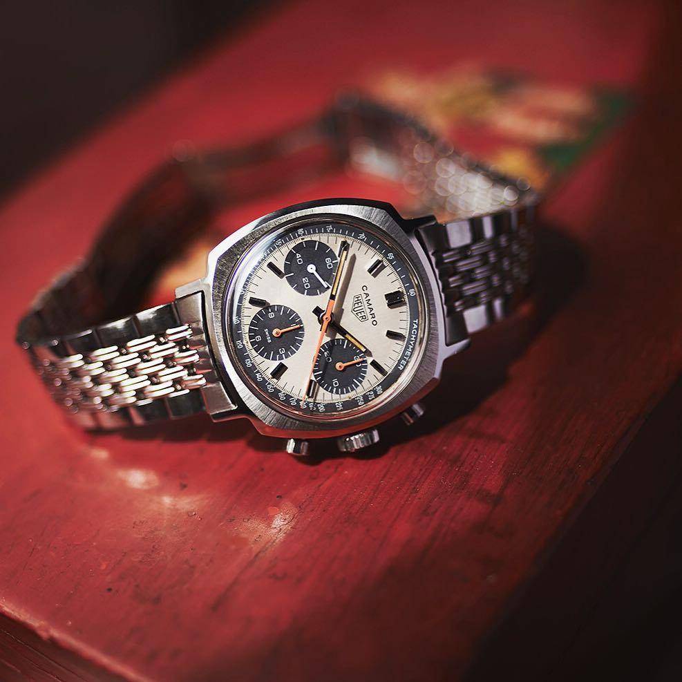 Heuer Camaro 73643 exotic dial